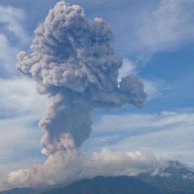 Columna de 3 mil metros por nueva explosión en el Volcán de Colima