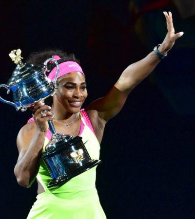SE CORONA SERENA EN MELBOURNE: Con gran juego, la estadounidense derrota a la rusa Maria Sharapova en el Abierto de Australia