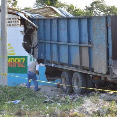 AMARGO ACCIDENTE EN EL SUR: Camión cañero se estrella contra una galera matando a un niño de 3 años y 2 adultos; hay 4 lesionados más