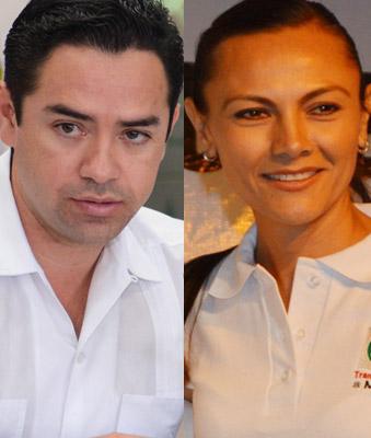 Todo listo en el PRI para la confirmación de 'Chanito' Toledo y Arlet Mólgora como candidatos a diputados federales