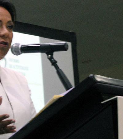 """""""SEGUIRÁ LA LUCHA DESDE CUALQUIER TRINCHERA"""": Contra el alza del IVA, el 'Dragon Mart' y el 'fracking', las principales batallas desde el Congreso, enumera Graciela Saldaña al presentar segundo informe en Cancún"""