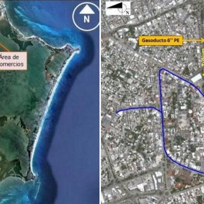 Por riesgoso y no estar previsto en planes urbanísticos, rechaza comuna proyecto de gasoducto para Cancún
