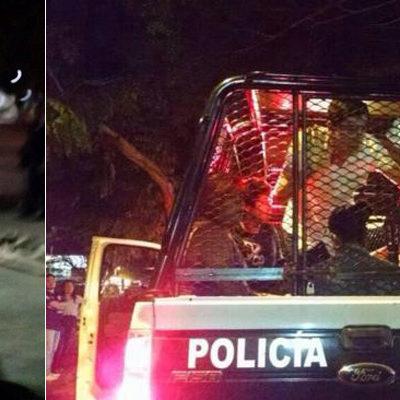 REPRIMEN MANIFESTACIÓN POR AYOTZINAPA EN CANCÚN: Disuelven policías pequeña marcha de jóvenes frente al Ayuntamiento; hay 13 detenidos