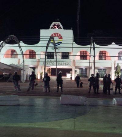 Tras represión de manifestación, acusa PRD que 'Ley del Garrote' en QR es para criminalizar la protesta social