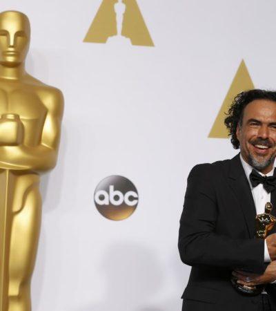 """""""¿SE VA A MARCHAR CON TODO EL ORO?"""": Molesta a conservadores en EU triunfo de Iñárritu en la gala de los Oscar"""
