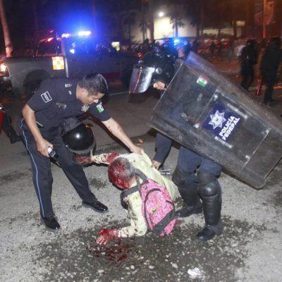 SANGRA GUERRERO POR REPRESIÓN: Confirman muerte de profesor jubilado por golpes recibidos durante desalojo en Acapulco