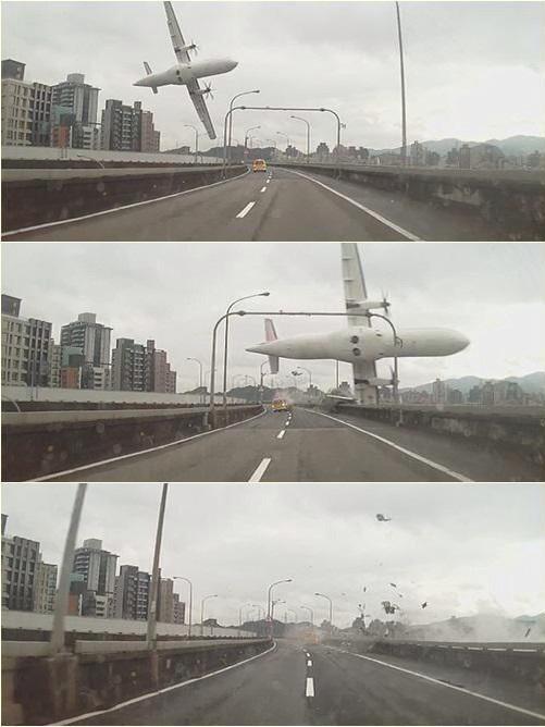 ESPELUZNANTE ACCIDENTE AÉREO: Suman 23 muertos, 17 desaparecidos y 15 heridos por caída de avión en Taipei