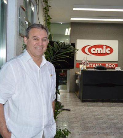 Eligen a Raúl Villanueva Argüelles como nuevo líder de la CMIC en Quintana Roo