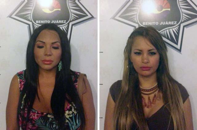 Detienen a 8 travestis por prostituirse en la Zona Hotelera de Cancún