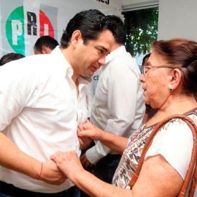 Dice 'Chanito' tener un avance de 70% en visitas a los delegados que ratificarán su candidatura a diputado federal