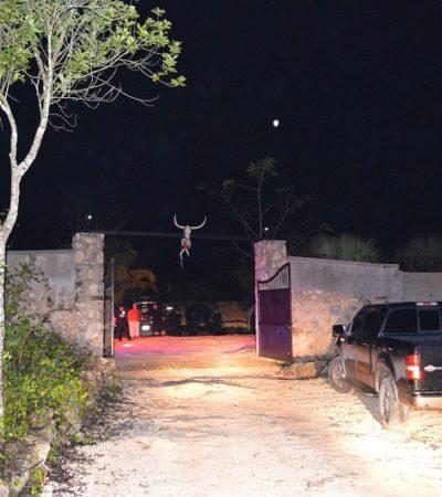 Por presuntos problemas sentimentales, de un escopetazo se suicida velador en un rancho en el ejido Bonfil