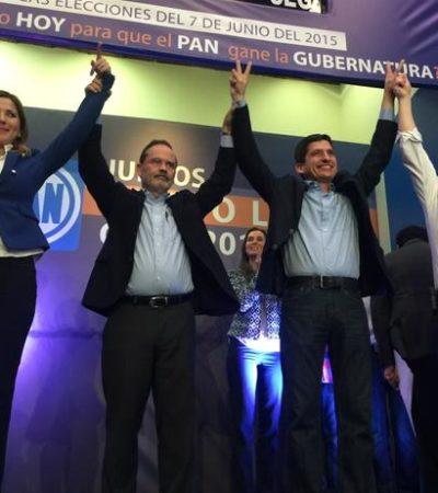 Felipe Cantú le gana a Margarita Arellanes la candidatura del PAN a la gubernatura de Nuevo León; en Sonora va Javier Gándara