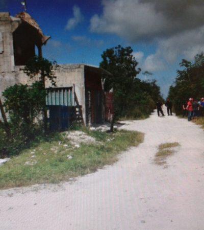 """""""ESTO ME PASÓ POR CULPA DE JULIO"""": Con golpes, puñaladas y un críptico mensaje, hallan asesinado a un albañil en Cancún"""