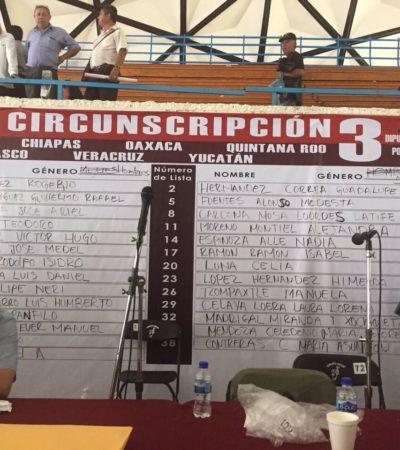 ELIGE MORENA A SUS 'PLURIS': Dejan fuera a Marcelo Ebrard; por QR, Lourdes Cardona Muza queda en la octava posición