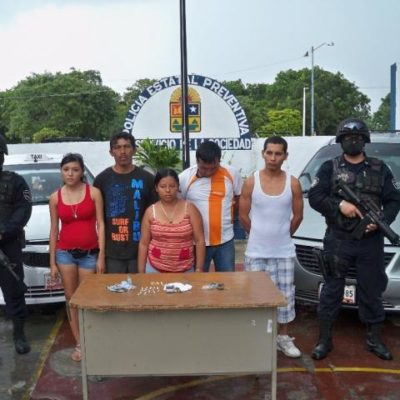 LARGO HISTORIAL DELICTIVO: Involucran en narcotráfico y secuestro a familia detenida con camión con droga en Tulum