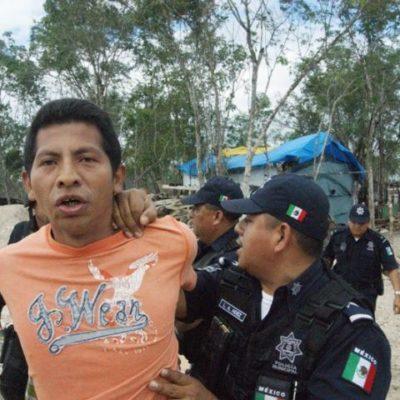 TENSIÓN EN ZONA DE INVASIÓN: Acusan a hombre de denunciar a extorsionadores y lo agreden con machete en Playa
