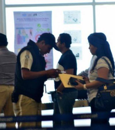 Refuerzan seguridad en el aeropuerto de Chetumal tras el caso del menor polizón