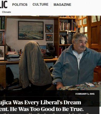 """¿UN 'MITO' DEL URUGUAY?: """"Demasiado bueno para ser verdad"""", la visión crítica sobre Mujica en New Republic"""