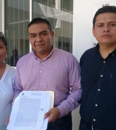 """Aporta PRD al TEPJF pruebas contra el PVEM por entrega de despensas en Cancún; """"el que nada debe nada teme"""", responden"""