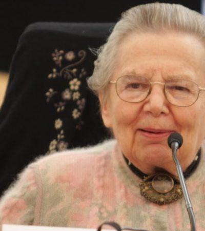 """""""AGUDA, INCISIVA E IMPLACABLE"""": A los 91 años, fallece Raquel Tibol, crítica de arte, periodista y escritora"""