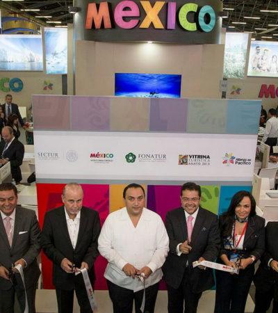 VIAJE 'DE APARADOR': Llega Borge a Colombia para participar en 'Vitrina Turística'