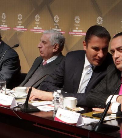 Asiste Borge a reunión de la Conago en Toluca; niega Gobernador viaje al extranjero
