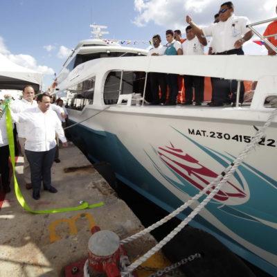 OOOTRA DE MAURICIO Y BORGE: En lo oscurito, dan a naviera 'Barcos Caribe' concesión para vender boletos en vía pública por 50 años