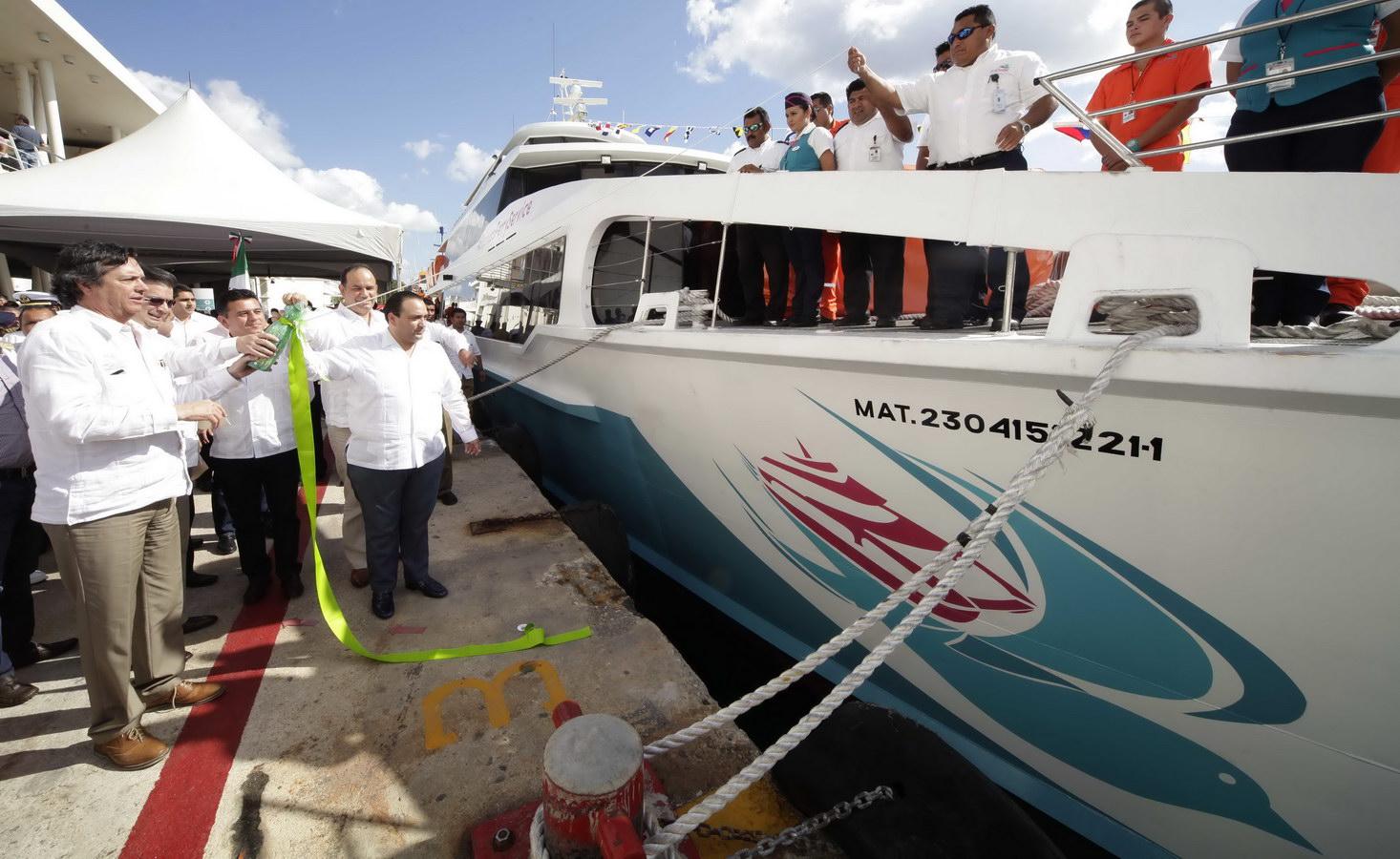 'HACE AGUA' 'BARCOS CARIBE': A sólo 3 días de iniciar operaciones, fallan las embarcaciones de la nueva naviera y deja 'colgados' a usuarios