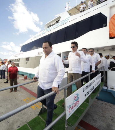 CONSTE! | Peña Nieto avala una naviera bajo sospecha en Quintana Roo | Por Carlos Cantón Zetina