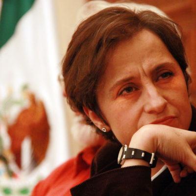 DESPIDE MVS A CARMEN ARISTEGUI: La empresa de Joaquín Vargas da por terminada su relación con la periodista crítica; dice no aceptar 'ultimátum'; Denisse Dresser se solidariza y también se va; se consuma la purga