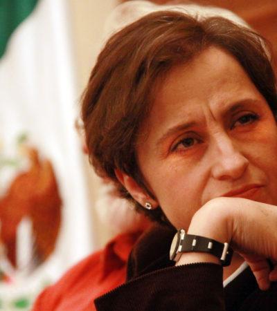 """""""EXTRAORDINARIA NOTICIA"""": Juez resuelve a favor de Aristegui en conflicto con MVS"""
