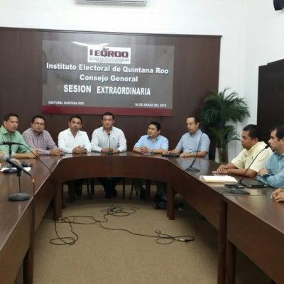 Acuerdan 7 de 10 partidos en QR presentar propuesta de reforma política al Congreso en 7 semanas