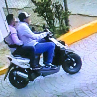 Hallan abandonada motocicleta usada en el atraco a joyería de Plaza Las Américas; asciende a $450 mil, el botín