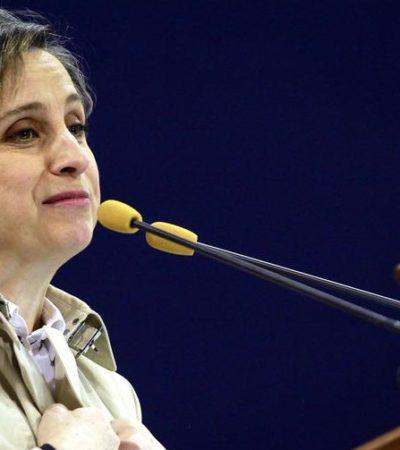 """LA NOCHE TRISTE DEL PERIODISMO EN MÉXICO: """"Inaceptables"""", condiciones que MVS pretendía imponer a Carmen Aristegui, dice 'ombudsman'"""