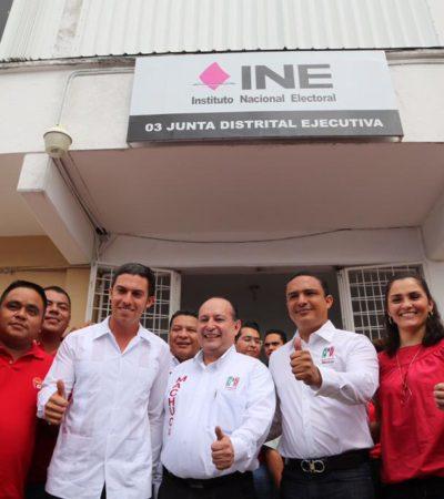 ELECCIONES QR: Apunta la coalición PRI-PVEM a Remberto Estrada para el Distrito 03 de Cancún