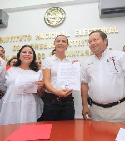 ELECCIONES QR: Registra PRI a María Hadad como suplente de Arlet Mólgora a la diputación por el Distrito 02