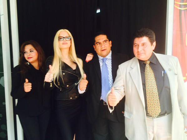 DE LA FARANDULA A LA POLÍTICA: Sabrina Sabrok, nueva embajadora honoraria del PRI