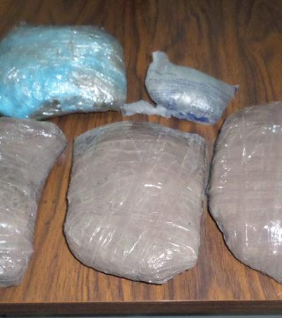 CATEO EN EL CERESO DE CHETUMAL: Hallan en operativo sorpresa 2 kilos de marihuana
