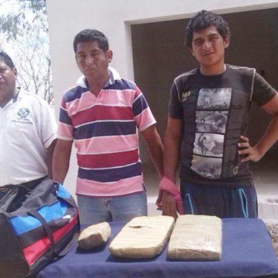 Capturan a otro narcotaxista y cómplices con 4.5 de marihuana en Playa