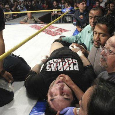 """""""PRÁCTICAMENTE LLEGÓ MUERTO"""": Revelan que la causa de la muerte de 'El Hijo del Perro Aguayo' fue un traumatismo de cuello con lesión cervical"""