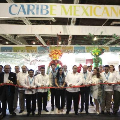 Inauguran pabellón de QR en el Tianguis Turístico de Acapulco