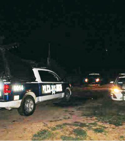ASESINATO EN BACALAR: Encuentran cuerpo de sexagenario lapidado en el poblado de 'La Pantera'