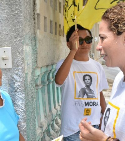 En la Región 92, advierte Iris Mora que salud debe reforzarse con espacios deportivos, pero en Cancún faltan