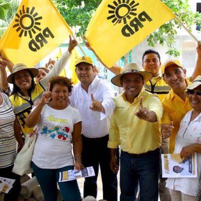 En Solidaridad, se sube Sergio Flores al tema del momento y rechaza el cierre de accesos a playas en Quintana Roo