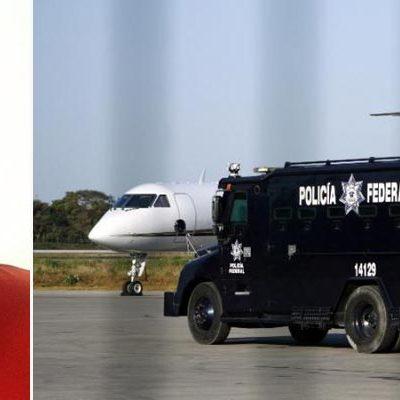 'EL TALIBANCILLO', EN MANOS DE LA SEIDO: Fuerte operativo para trasladar al DF a líder regional del CDG capturado en Cancún