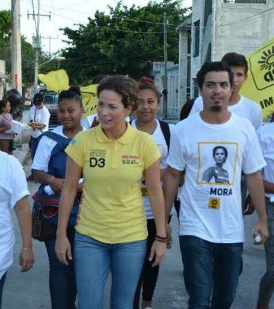 Seguridad, prioridad para Iris Mora; la demanda ciudadana gira en torno a este tema, dice la ex capitana del Tri femenil