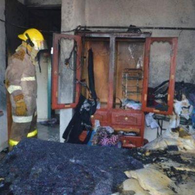 Ladrones allanan vivienda en Chetumal y además la incendian
