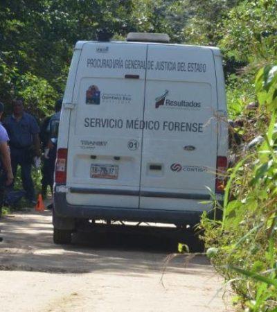 Encuentran a un hombre muerto cerca de la base militar de Xtomoc, en el sur de QR