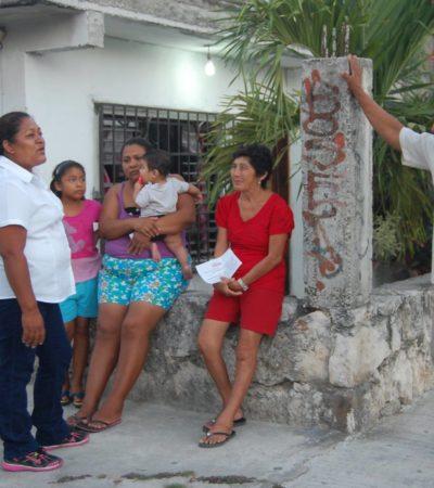 Norma Solano, de Morena, dice que hace campaña de concientización ciudadana en el Distrito 03