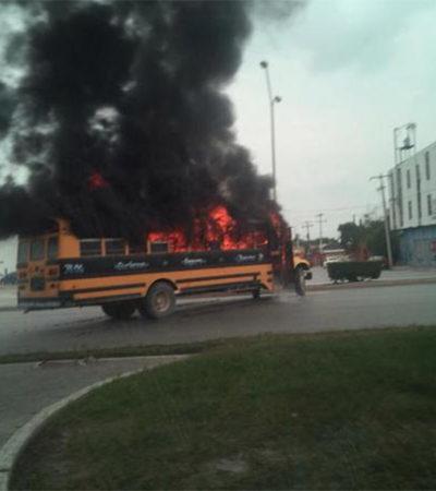 ARDE REYNOSA: Incendios de autos, bloqueos y balaceras sacuden la norteña ciudad; EU emite alerta por violencia